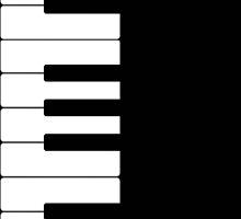 Piano Keyboard by nanengen2