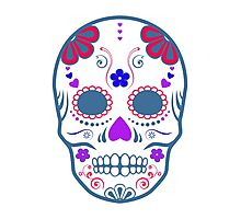 sugar skull Photographic Print