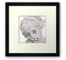 asthetics Framed Print