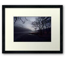 The Lake - Llyn Gwynant Framed Print
