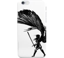 Angel Print iPhone Case/Skin