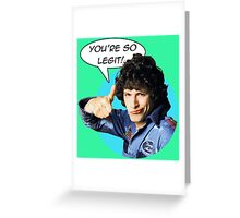 Rod Kimball's Seal of Approval Greeting Card