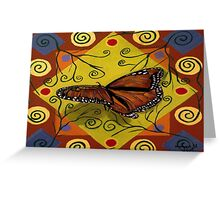 Monarch butterfly  Greeting Card
