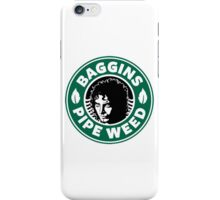 Baggins Pipe Weed iPhone Case/Skin