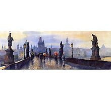Prague Charles Bridge Photographic Print
