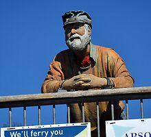 King Harry Ferry Figure.......... by lynn carter