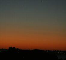 A Moonlit Sunset by Tim Murdoch