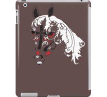 sugar skull horse iPad Case/Skin