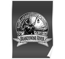 Buckleberry Ferry Crossing - Brandywine River Poster