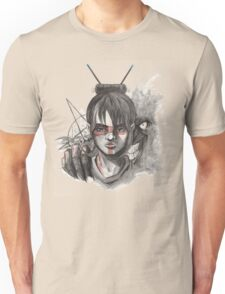 The Devil next to me Unisex T-Shirt