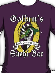 Gollums Sushi Bar - Fresh Precious Fish T-Shirt