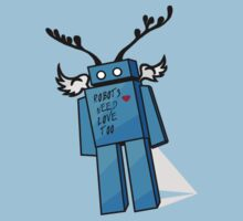 Robots Need Love Too by Melissa de Klerk