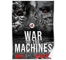 WAR OF THE MACHINES - MAYWEATHER VS PACQUIAO Poster