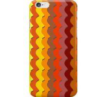 Colourful waving stripes  iPhone Case/Skin