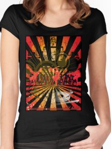 Disc Jockey Women's Fitted Scoop T-Shirt