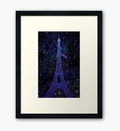 Romantic Paris / Eiffel Tower Framed Print