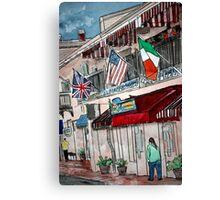 3 Flags Canvas Print