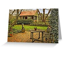 Victory Garden Greeting Card