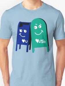 love mailboxes Unisex T-Shirt