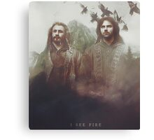 The Hobbit: I See Fire Canvas Print