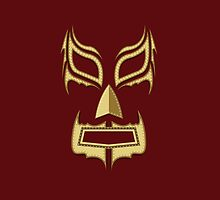 Luchador Mask Bad Guy by PatinoDesign