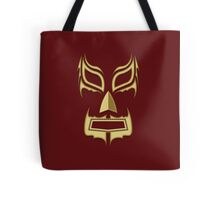 Luchador Mask Bad Guy Tote Bag