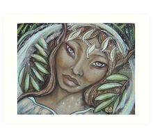 The Willow Faerie Art Print