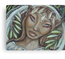 The Willow Faerie Canvas Print