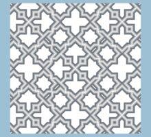 Geometric Pattern - Oriental Star Design  Kids Tee