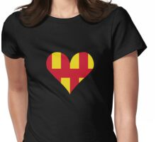 Northumberland Love Womens Fitted T-Shirt