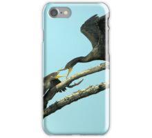 Leave or Else iPhone Case/Skin