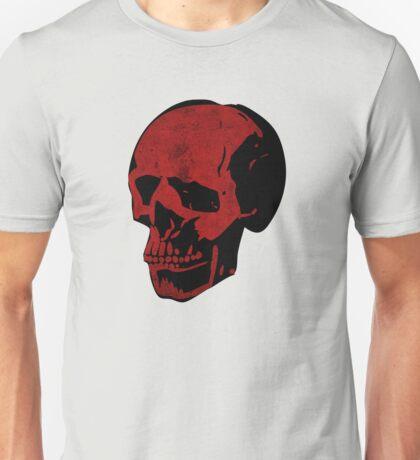 Bloody Red Punk Skull Unisex T-Shirt