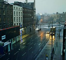 City - Street - Dublin  - A View by Carl Gaynor