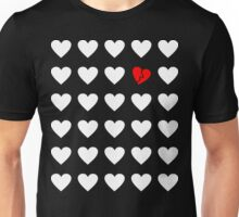 odd heart out Unisex T-Shirt
