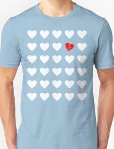 odd heart out Unisex T-Shirt