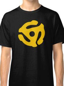 Gold 45 Vinyl Record Symbol Classic T-Shirt