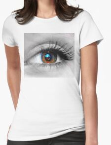 ICU  Womens Fitted T-Shirt
