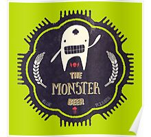 The Monster Beer Poster