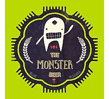 The Monster Beer Photographic Print