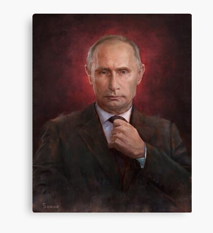 Vladimir Putin Time Person of the Year cover Canvas Print