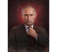 Vladimir Putin Time Person of the Year cover Photographic Print