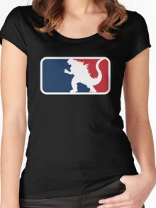 Godzilla Women's Fitted Scoop T-Shirt