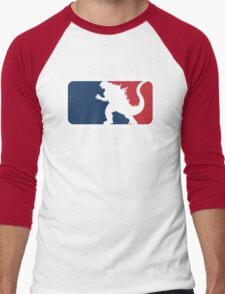 Godzilla Men's Baseball ¾ T-Shirt