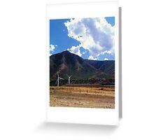 Windfarm Greeting Card