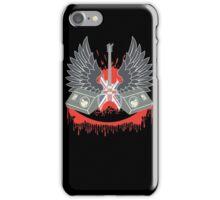 British Music Guitar Wings Collage iPhone Case/Skin