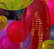 Lighted Balloons  by Elaine Bawden