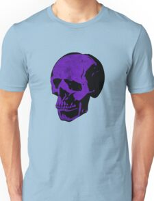 Royal Punk Purple Skull Unisex T-Shirt