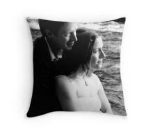 riverside holds Throw Pillow