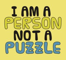 Person Not a Puzzle v.2 Kids Clothes