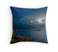 Break Water Valletta Throw Pillow